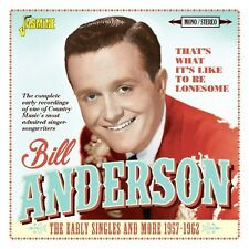 Bill Anderson-that 's what it' s like CD NUOVO