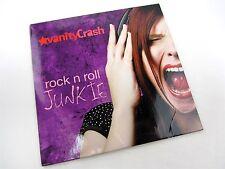 CD - Vanity Crash  Rock N Roll Junkie 2014 in Digi/Paper Case 5 tracks Cleveland