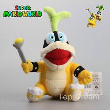 """Super Mario Bros. Iggy Koopa Peluche Suave Peluche Animales Muñeca 9"""" Niños Regalo"""