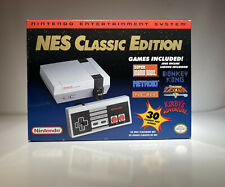 NES Classic Edition Box, Poster, Manuel, Protective Packaging, Pouch -NO CONSOLE