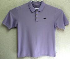 Tommy Bahama Mens Supima Cotton Short Sleeve Purple Polo XL Shirt EUC