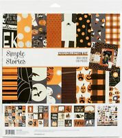 "Simple Stories Collection Kit 12""X12""-Boo Crew"