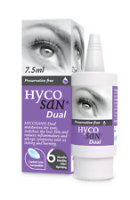 Hycosan Dual Eye Drops 7.5ml lipid deficient & allergy related dry eye Scope