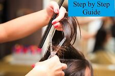 Hairdressing 2 dvds  teach yourself  how to cut style and colour hair