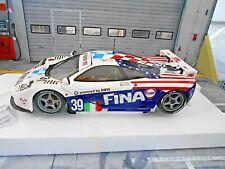 McLAREN BMW GTR F1 Le Mans 1996 Bigaz Fina #39 Piquet Cecotto Minichamps SP 1:18