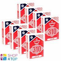 8 Decks Copag 310 Gaffe Poker à Jouer Karen Paper Standard Index Bleu Rouge Neuf