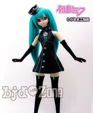 Hatsune Miku COSPlay Lovely Music factory 1/3 1/4 MSD SD DD BJD COS Doll Clothes