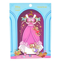 Loungefly Disney Cinderella 70th Anniversary 4 Pc Pin Set