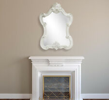 French Style Elegant Large Portrait Rustic Look Wall Mirror - Height 112cm