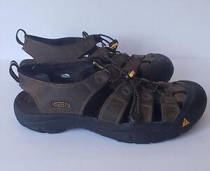 KEEN Newport Bison M 1001870 Sandals Brown Men's Size 11 Water Sport Hiking
