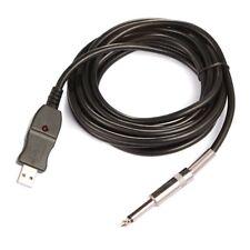 3M Chitarra a PC Interfaccia adattatore per cavo di registrazione USB 6,5mm E0L3