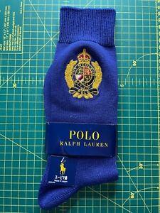 Polo Ralph Lauren Crest Logo Socks UK 9-11 Genuine BNWT