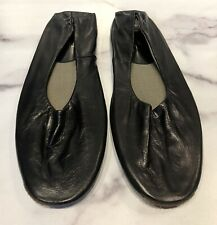Neiman Marcus Black Leather Men's Slippers Shoes