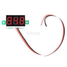 Small DC 0-30V Red Green Blue LED Digital Diaplay Voltage Voltmeter Panel Meter