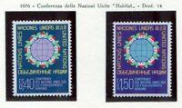 19542) UNITED NATIONS (Geneve) 1976 MNH** Nuovi** Habitat