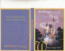 Walt Disney World Resort-Where Magic Lives-Flosida-USA-Resort-DVD
