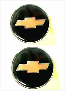 2 Steering Wheel Emblem Logo Badge Decal For Chevy Chevrolet SILVERADO 1500 2500