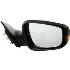 Fits Elantra 11-13 Passenger Side Mirror Replacement - Heated - With Signal Lam