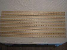 10 Meter Yardstick Wood Wooden Ruler Lot Advertising Sign Color Art Craft