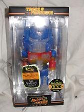 "Funko Premium Hikari Transformers Optimus Prime Clear Glitter 6"" Vinyl Figure"