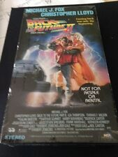 Back to the Future 2 (VHS, 1990) Brand new! Factory Sealed package.  RARE!