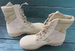UFCW Men's Military Desert Combat ASTMF2413-05 MI/75C/75 Size 9 1/2 R Never Worn