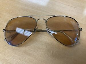 Ray Ban Aviator RB 3025 Gold Frame 55014 Sunglasses Prescription LENSES