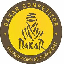 Classic Motorsport Exterior Vinyl Decal Dakar VW Rally Car Competitor Stickers 2
