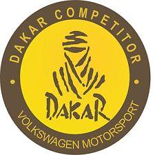 Classic Motorsport extérieur Vinyl Decal DAKAR VW Rally Voiture concurrent Autocollants 2