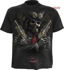 SPIRAL DIRECT Steam Punk BANDITO T-Shirt,Maschera/Scheletro/Skull/Steam PUNK/