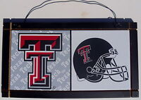 New Texas Tech Red Raiders University College Licensed Wooden Sign Sport Fan B