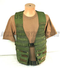 US Military FIGHTING LOAD CARRIER FLC Tactical VEST Woodland Camo MOLLE II GC