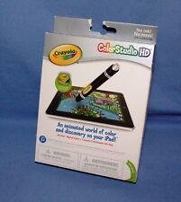 Crayola ColorStudio HD iMarker digital Stylus + HD App - FOR iPads - NEW