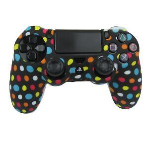 Silicone Grip Polka Dot Silicone Case Soft Shell Non Slip For PS4 Controller