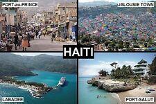 SOUVENIR FRIDGE MAGNET of HAITI
