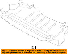 BMW OEM 11-13 M3 Splash Shield-Under Engine / Radiator Cover 51757899820