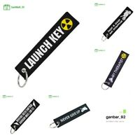 Keychain REMOVE BEFORE FLIGHT Key Chain for Motorcycles and Cars Key Tag