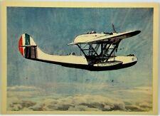 Cartolina Aviazione - Aereo C.R.D.A. Cant: Z. 501 - Non Viaggiata