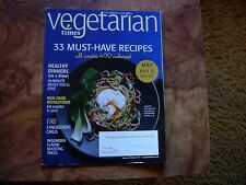 Vegetarian Times Magazine January/February 2013