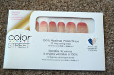 NEW RETIRED Color Street Set- Glitter Ombre CORAL BAY Pink Gold