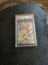 1999 Pokemon Topps Tv Raichu PSA 10