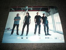 "Myles Kennedy SIGNED AUTOGRAFO SU 20x28 cm fotografia ""Alter Bridge"" inperson look"