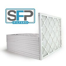 16 3/8x21 1/2x1 Merv 8 Pleated AC Furnace Filters 12 pack  Made in the USA