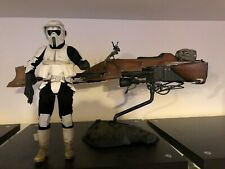 Hot Toys/Sideshow 1/6 Star Wars Scout Trooper and Speeder bike!