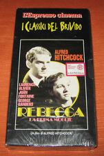 "Videocassetta/VHS/Alfred Hitchcock "" REBECCA "" L'Espresso"