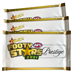 1 x 2021 AFL Select Prestige Premium Sealed Pack - Unsearched