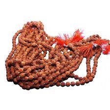 Rudraksha Mala 8mm Beads- 108 Beads Japa/ Mala 100% Natural RELIGIOUS Necklace