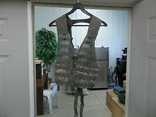 FIGHTING LOAD CARRYING VEST DIGITAL CAMO MOLLE II EQUIPMENT MODULAR USED