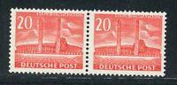 Luxus Berlin Mi-Nr. 113 als Paar ** postfrisch - Schlegel BPP - Mi. 200,-