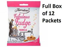 THORNTONS FABULOUS VANILLA FUDGE CASE OF 12 BAG'S CHRISTMAS SWEETS 216462